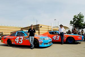 Richard Petty and AJ Allmendinger