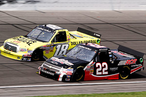 Kyle Busch & Joey Coulter