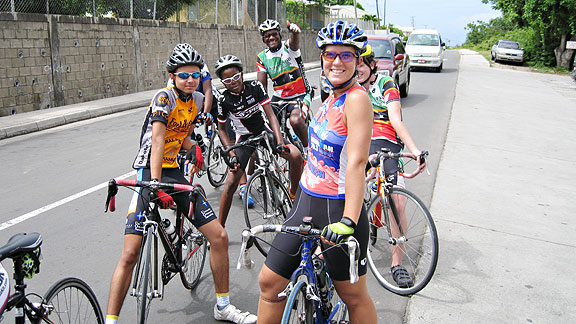 St. Kitts and Nevis' next generation of cyclists compete in the junior national championships. Cyclists from the small, island nation face an uphill battle to qualify for the Olympics.