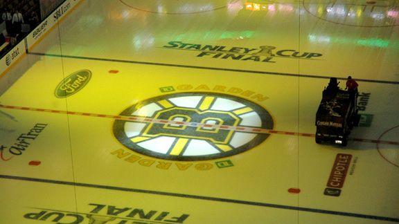 Boston Garden Ice