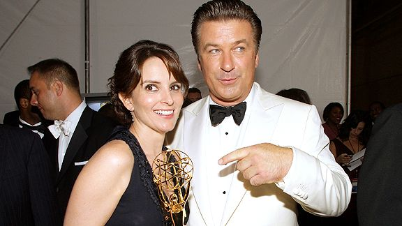 Tina Fey and Alec Baldwin
