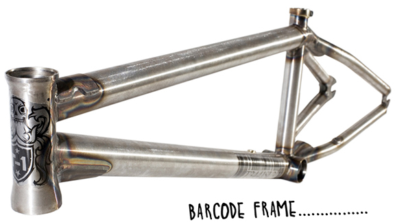 During Dave's last week at FBM, he worked on T-1's latest batch of Barcode frames.