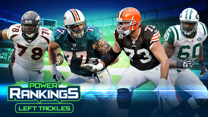 Power Rankings Left Tackles