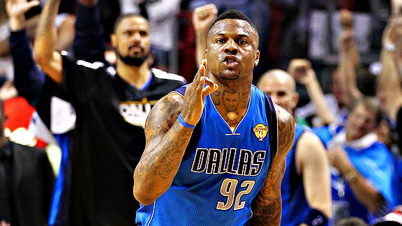 Deshawn Stevenson of the Dallas Mavericks