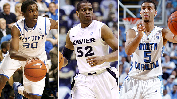 Doron Lamb/Tu Holloway/Kendall Marshall