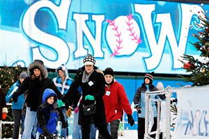Progressive Field Snow Days