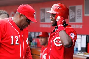 Brandon Phillips and Dusty Baker