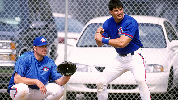 Jose Canseco & Roger Clemens