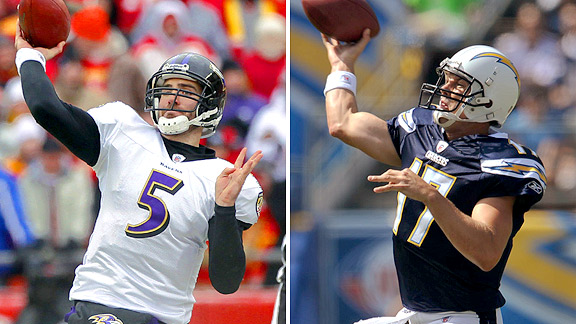 Joe Flacco/Philip Rivers