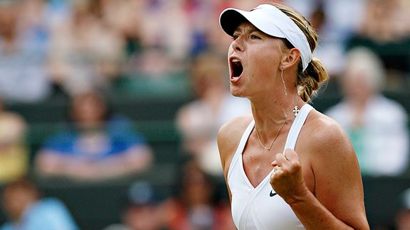 Oddsmakers are betting on Maria Sharapova at Wimbledon, even though the tennis star hasn't reached a Grand Slam final since 2008.