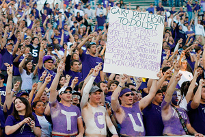 TCU fans