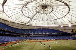 Tropicana Field (Interior)