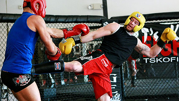 Nate Marquardt & Georges St. Pierre