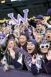 Huskies fans