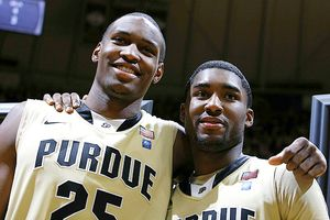 JaJuan Johnson and E'Twaun Moore