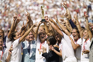 1999 USA World Cup soccer team