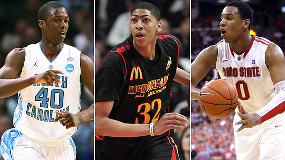 Harrison Barnes/Anthony Davis/Jared Sullinger