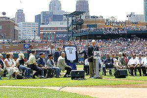 Sparky Anderson ceremony