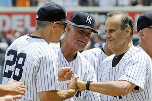 Joe Girardi and Joe Torre