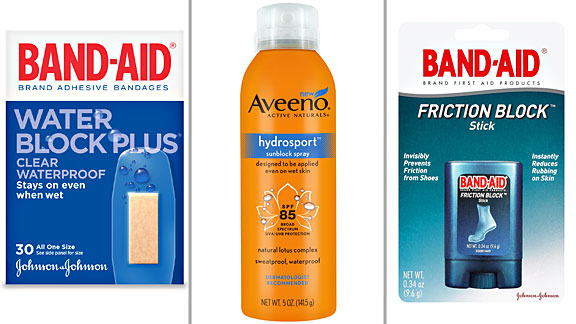 Band-Aid, Aveeno, Band-Aid
