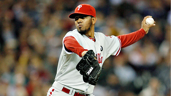 Phillies reliever Antonio Bastardo has emerged as one of the best relievers in the NL.
