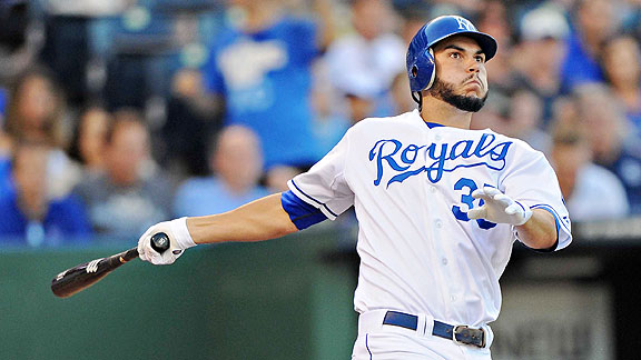 Eric Hosmer Reales Kansas City