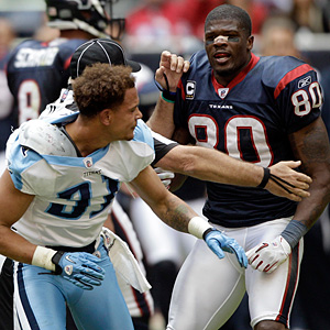 Andre Johnson and Cortland Finnegan