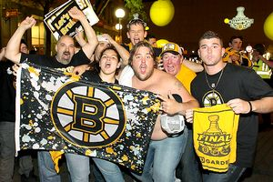 Boston Bruins fans