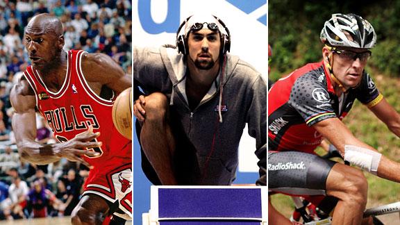 Jordan, Phelps, Armstrong