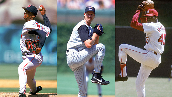Pedro Martinez, Randy Johnson, Bob Gibson
