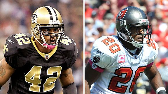 Darren Sharper and Ronde Barber