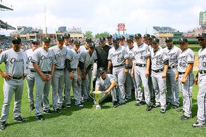 White Sox with BP Cup