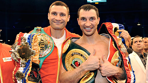 Wladimir &amp; Vitali Klitschko