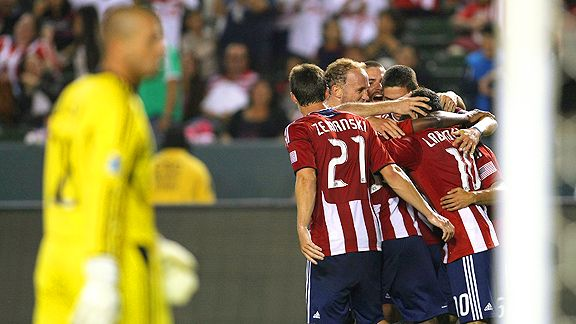 Chivas USA celebrates