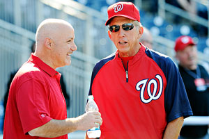 Mike Rizzo and Davey Johnson