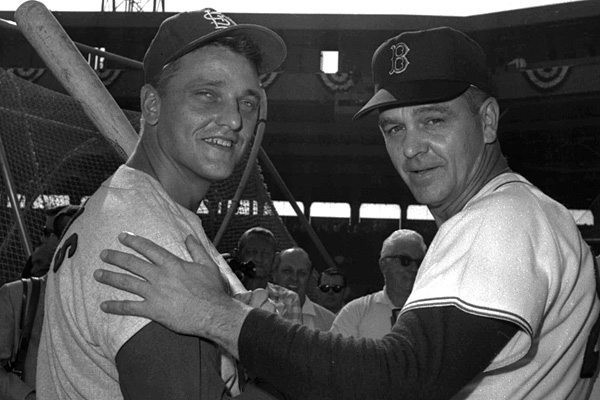 Dick Williams and Roger Maris