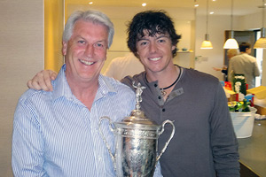 Rory McIlroy and Mickey McDonald