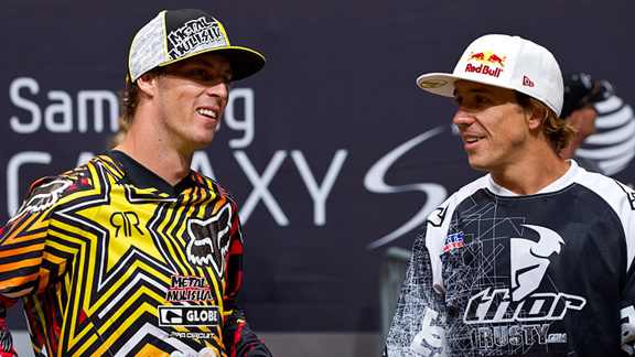 Fellow Aussies Cameron Sinclair and Robbie Maddison both have what it takes to win Best Trick gold at X Games 17. Maddison is rumored to be eyeing a double Volt, while Sinclair is planning a double backflip combo. Crazy kids indeed.
