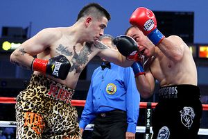 Brandon Rios and Urbano Antillon