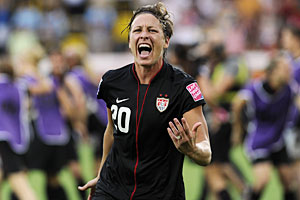 Abby Wambach Named AP Female Athlete of the Year 2011