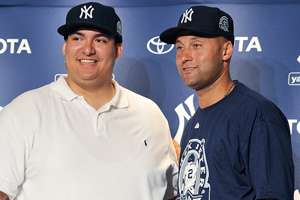 Christian Lopez and Derek Jeter