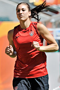 af1a4f39d AP Photo Martin Meissner Off-the-pitch media distractions will be the  greatest challenge for Hope Solo and the U.S. heading into their semifinal  against ...