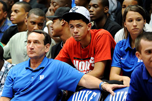 Austin Rivers & Coach K