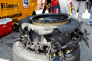 Matt Kenseth tire