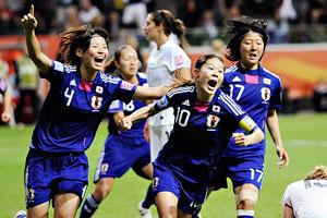 Jubilant Japan