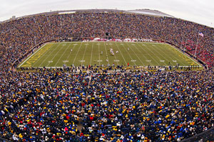 Saturdays at the Big House are hard to beat with the pageantry of college football on full display.