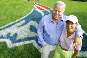 Myra and Robert Kraft