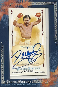 Manny Pacquiao card