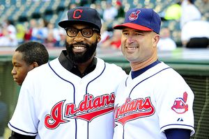 Baron Davis and Manny Acta