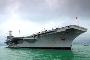 The USS Carl Vinson and its sailors have attracted considerable attention since early May, when the carrier was used to bury Osama bin Laden at sea after he was killed by Navy SEALs.